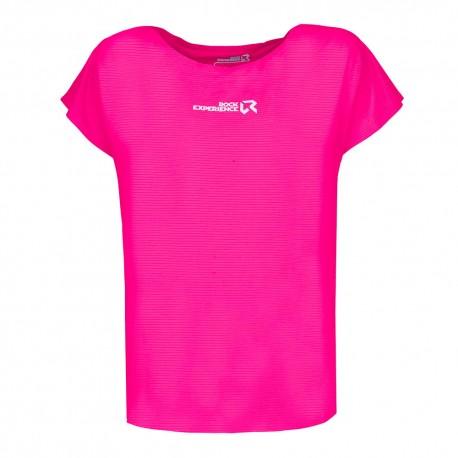 Rock Experience T-Shirt Re.Spirit Beetroot Purple Donna