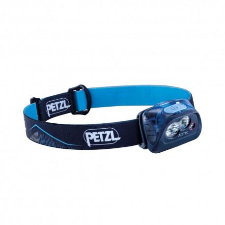 Petzl Lampada Frontale Actik 350 Lumen Blu