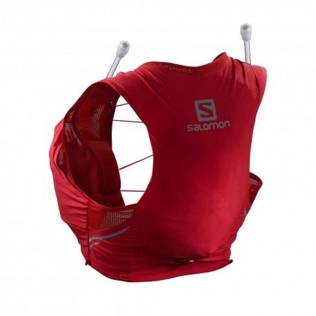 Salomon Zaino Trekking Sense 5 Set Red Chili Donna