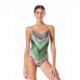 4giveness Costume Intero Wild Verde Donna