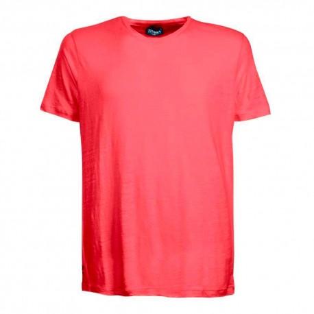 Zeybra T-Shirt Mare Lino Corallo Uomo