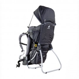Deuter Zaino Trekking Porta Bimbo Kid Comfort 1 Set Nero