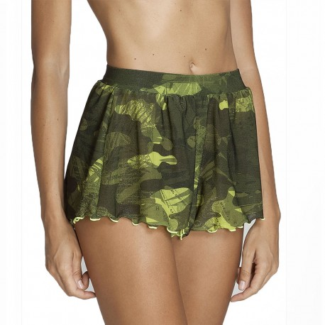 Effek Pantaloncini Mare Camouflage Donna