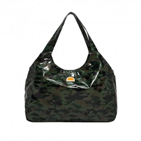 Sundek Borsa Mare Camouflage Verde Donna