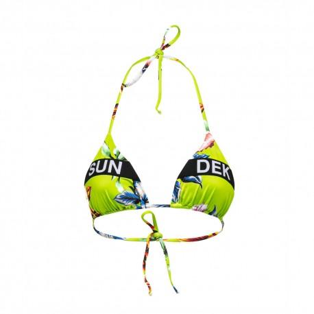 Sundek Bikini Top Fantasia Giiallo Donna