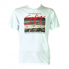 Sundek T-Shirt Mare Foto Bianco Uomo