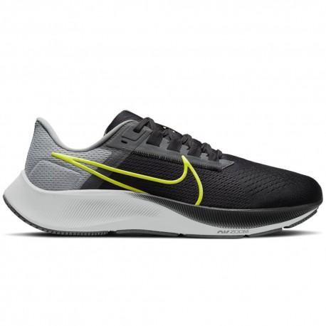 Nike Scarpe Running Air Zoom Pegasus 38 Grigio Nero Uomo