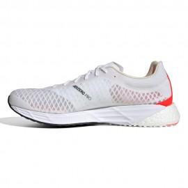 ADIDAS scarpe running adizero pro ftwr bianco nero uomo