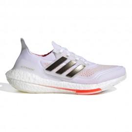 ADIDAS scarpe running ultraboost 21 ftwr bianco nero donna
