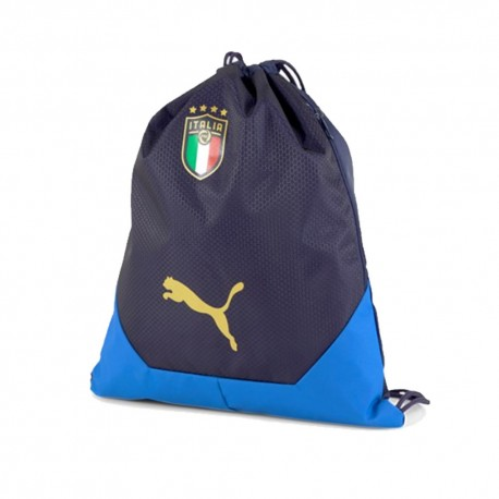 Puma Zaino A Sacca Italia Final Blu Nero
