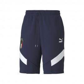 Puma Pantaloncini Calcio Italia Iconic Blu Uomo