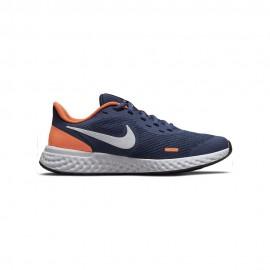 Nike Sneakers Revolution Gs Blu Bianco Bambino