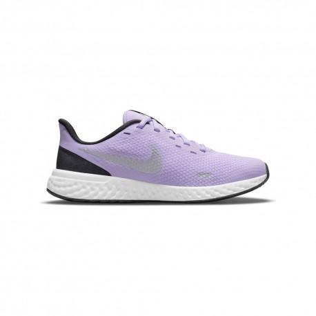 Nike Sneakers Revolution Gs Lilla Grigio Bambina