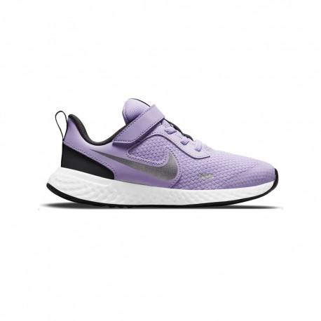 Nike Sneakers Revolution Ps Lilla Grigio Bambina