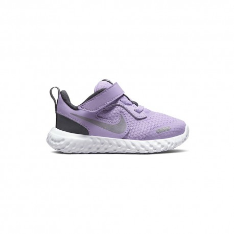 Nike Sneakers Revolution Td Lilla Grigio Bambina