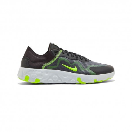 Nike Sneakers Renew Lucent Nero Bianco Bambino