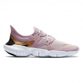 Nike Scarpe Running Free Rn 5.0 Oro Bianco Donna