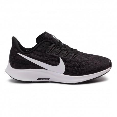 Nike Scarpe Running Air Zoom Pegasus 36 Nero Bianco Donna