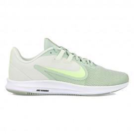 Nike Scarpe Running Downshifter 9 Verde Nero Donna