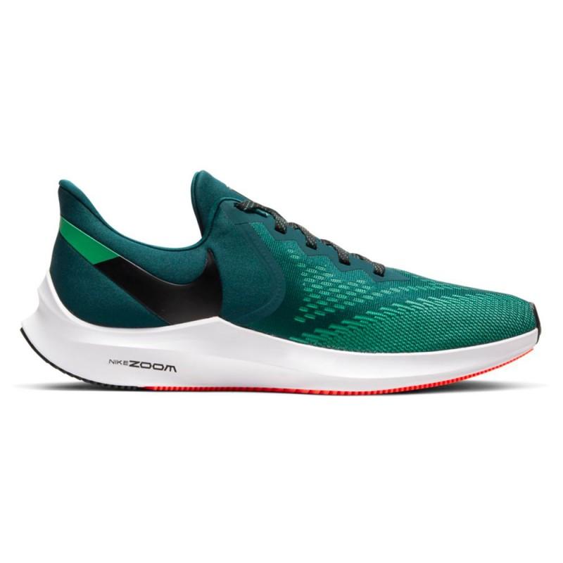 Nike Scarpe Running Zoom Winflo 6 Azzurro Nero Uomo