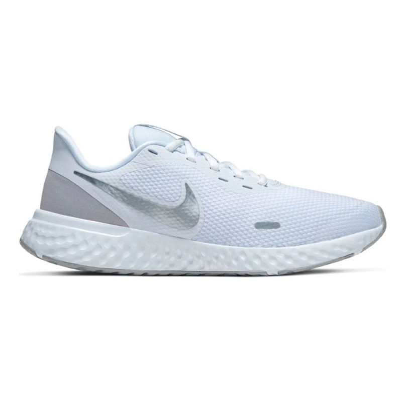 Nike Scarpe Running Revolution 5 Bianco Grigio Donna