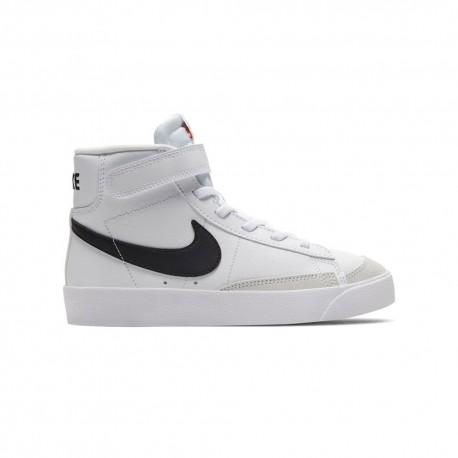 Nike Sneakers Blazer Mid 77 Ps Bianco Blu Bambino
