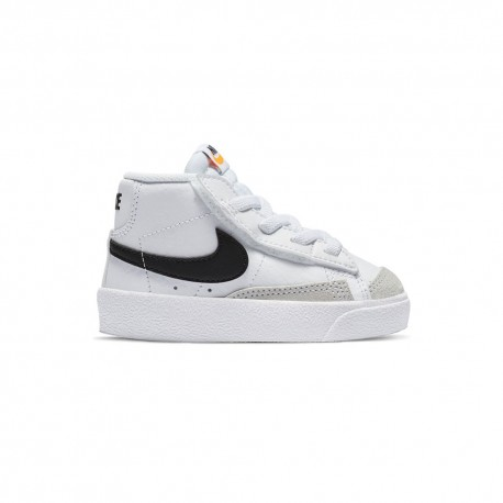 Nike Sneakers Blazer Mid 77 Td Bianco Nero Bambino