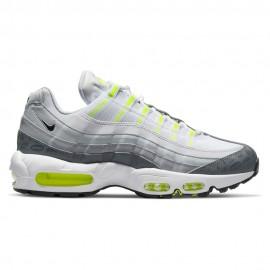 Nike Sneakers Air Max 95 Bianco Grigio Uomo