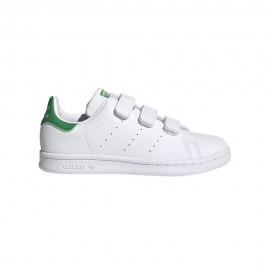 ADIDAS originals sneakers stan smith foundation cf ps bianco verde bambino