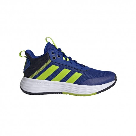ADIDAS sneakers ownthegame 2.0 gs blu lime bambino