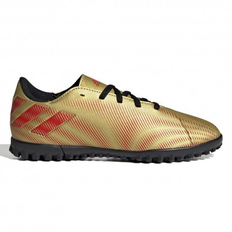 ADIDAS scarpe da calcio nemeziz messi .4 tf oro rosso uomo