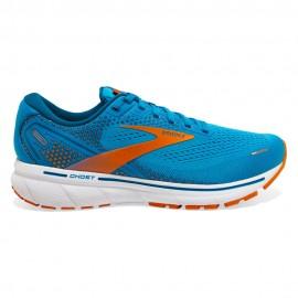 Brooks Scarpe Running Ghost 14 Vivid Blu Arancio Uomo