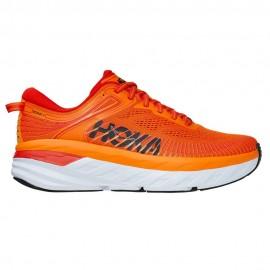 Hoka Scarpe Running Bondi 7 Persimmon Arancio Uomo