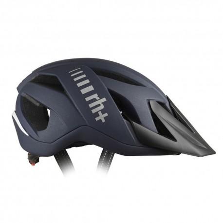 Rh+ Casco Bici 3in1 Matt Blu Metallizzato Uomo