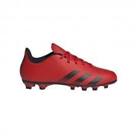 Adidas Scarpe Da Calcio Predator Freak .4 Fxg Rosso Nero Bambino