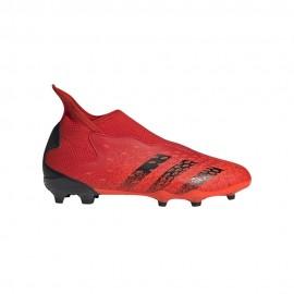Adidas Scarpe Da Calcio Predator Freak .3 Ll Fg Rosso Nero Bambino