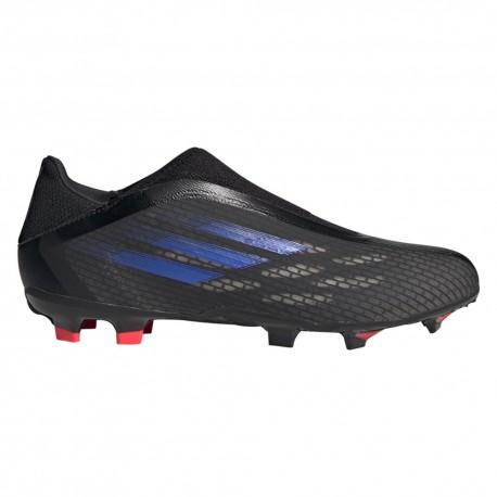 ADIDAS scarpe da calcio x speedflow .3 ll fg nero uomo