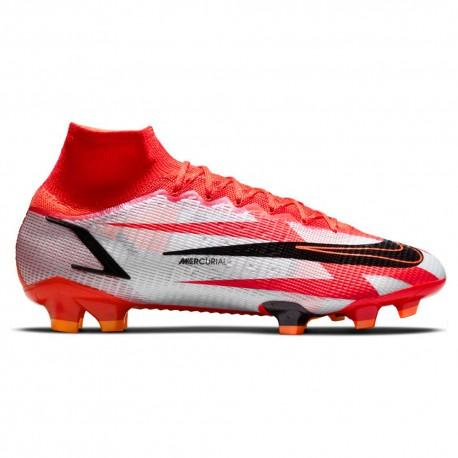 Nike Scarpe Da Calcio Superfly 9 Elite Cr7 Fg Rosso Bianco Uomo