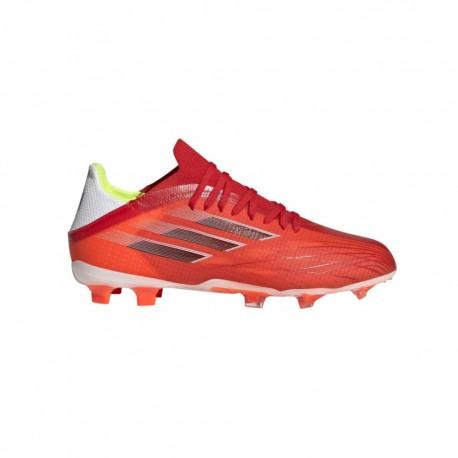 Adidas Scarpe Da Calcio X Speedflow .1 Fg Rosso Nero Bambino
