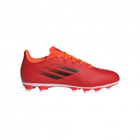 ADIDAS scarpe da calcio x speedflow .4 fxg rosso nero bambino