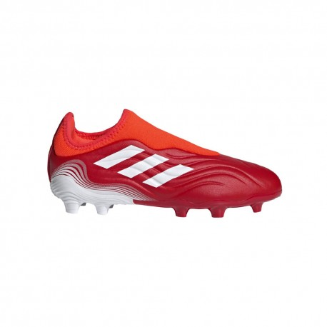 ADIDAS scarpe da calcio copa sense .3 ll fg rosso bambino