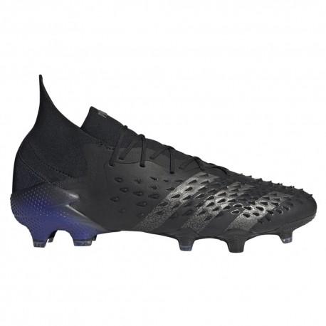 ADIDAS scarpe da calcio predator freak .1 fg nero uomo