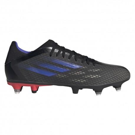 ADIDAS scarpe da calcio x speedflow .3 sg nero uomo