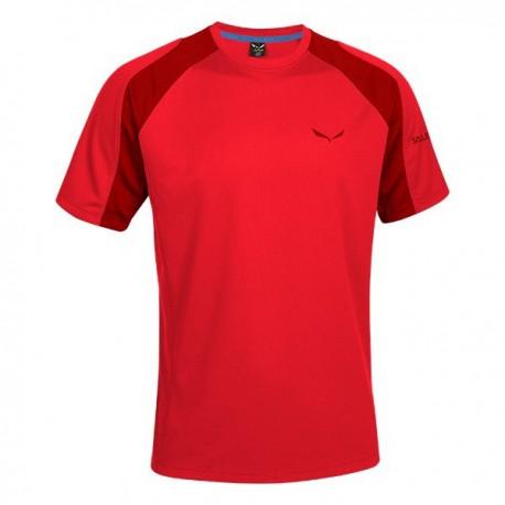 Salewa T-Shirt Puez Sporty Bergrot