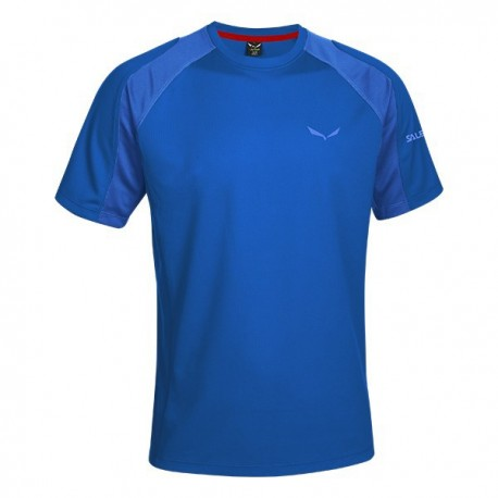 Salewa T-Shirt Puez Sporty Nautical Blue