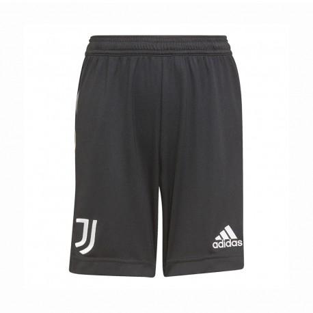 ADIDAS pantaloncini calcio juve away 21/22 nero bambino