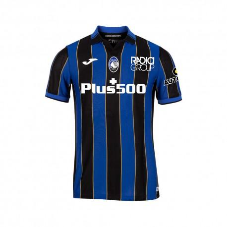 Joma Sport Maglia Atalanta Home 21/22 Blu Nero Bambino