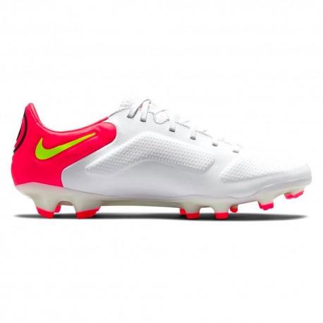Nike Scarpe Da Calcio Legend 9 Pro Fg Bianco Lime Uomo