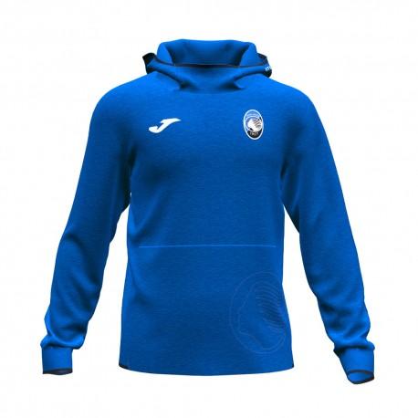 Joma Sport Felpa Calcio Atalanta Free Time Blu Nero Uomo