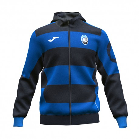 Joma Sport Felpa Calcio Atalanta Training Blu Nero Uomo